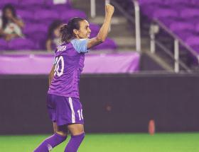 La brésilienne Marta a prolongé son contrat d'un an avec Orlando Pride