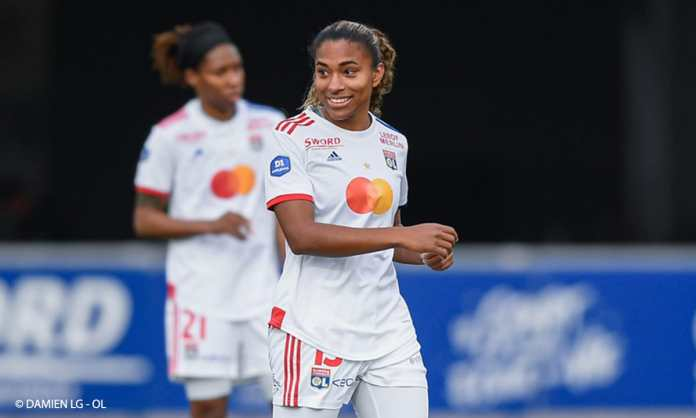 Catarina Macario est dans la composition de Lyon pour affronter Brondby en Ligue des championnes