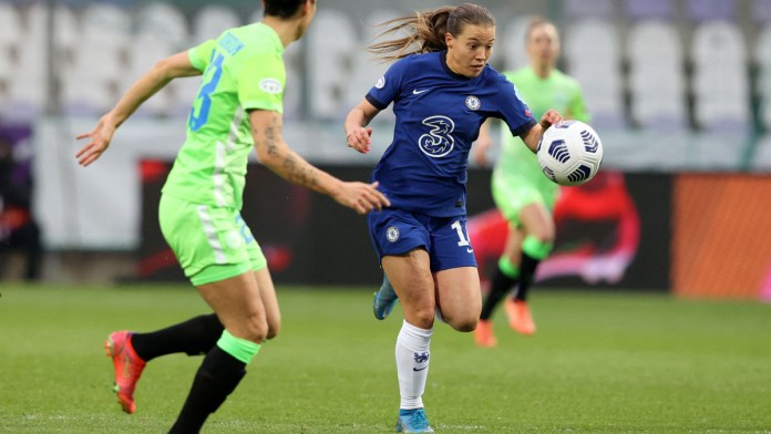 Chelsea bat Wolfsburg ce 24 mars. ©Twitter Chelsea women FC