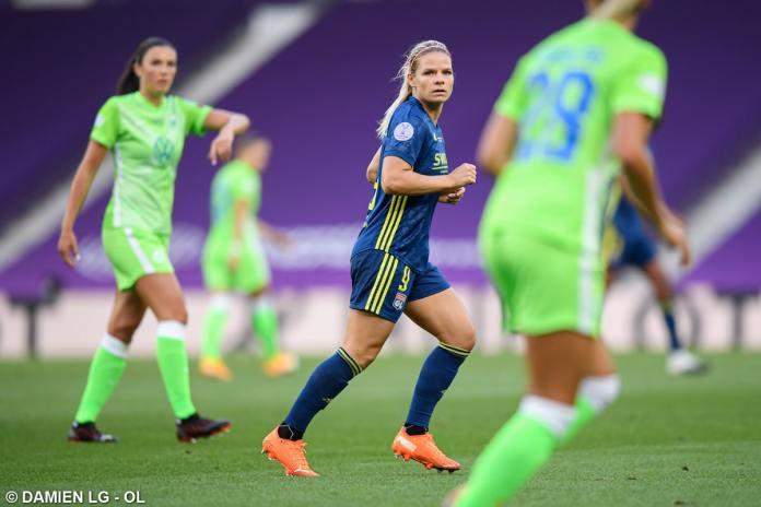 Eugénie Le Sommer et l'OL pourraient bientôt participer à la Coupe du Monde des clubs féminins