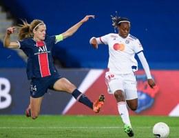 Les chiffres à connaître avant le match entre le PSG d'Irene Paredes et l'OL de Melvine Malard