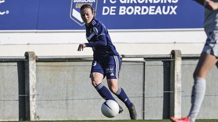 Andrea Lardez a prolongé son contrat à Bordeaux.