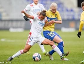 Nikita Parris a été décisive avec Lyon contre Brondby en Ligue des championnes