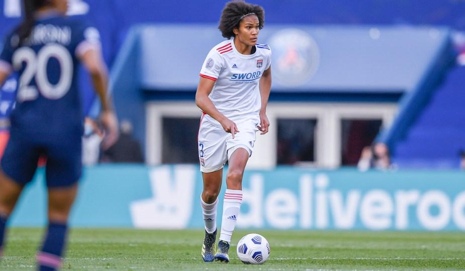 Wendie Renard était en conférence de presse après la victoire de Lyon contre le PSG en ligue des champions féminine