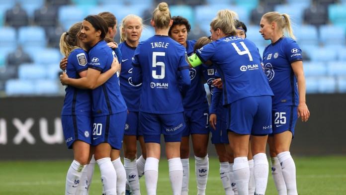 Chelsea s'avance au grand complet face au Bayern. ©Chelsea Women FC / Twitter