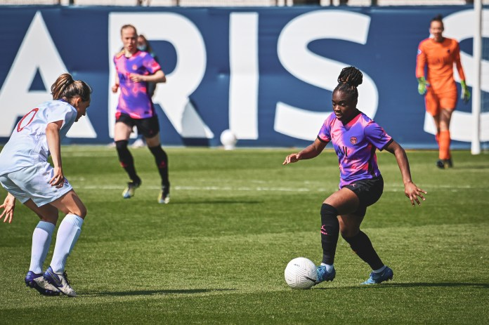 La victoire du PSG à Soyaux en images avec Laura Pestel