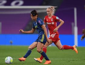 Saki Kumagai (OL) s'engage avec le Bayern Munich