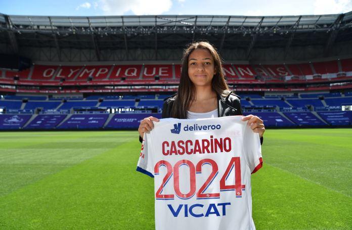 Delphine Cascarino prolonge à l'OL jusqu'en 2024