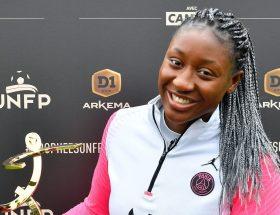 Kadidiatou Diani a obtenu le trophée UNFP de meilleure joueuse de la saison en D1