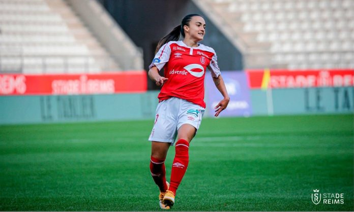 Melissa Herrera (Reims) élue joueuse du mois d'avril en D1 Arkema