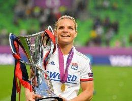 Eugénie Le Sommer devient la première ambassadrice de la Fondation UEFA pour l'enfance