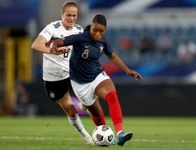 Grace Geyoro face à l'Allemagne