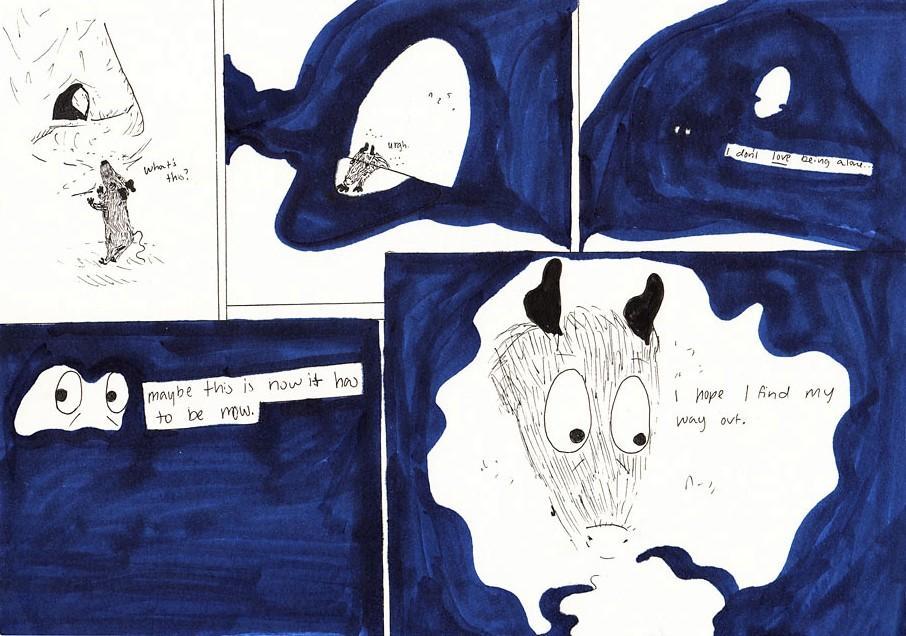 squeaksqueak Cartoon: College and uncertainty