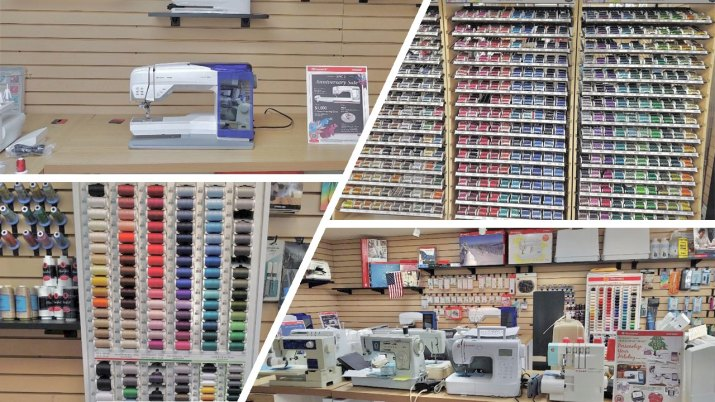 New and Refurbished Sewing Machines, Threads, and Accessories