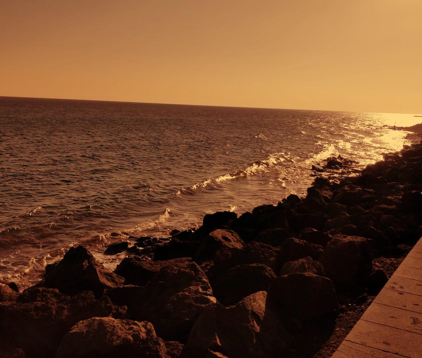 Lanzarote island in spain