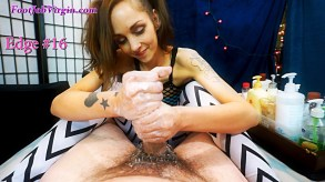 Image2 for Dustys First Footjob and Edging Game!, casting couch, sex, porn