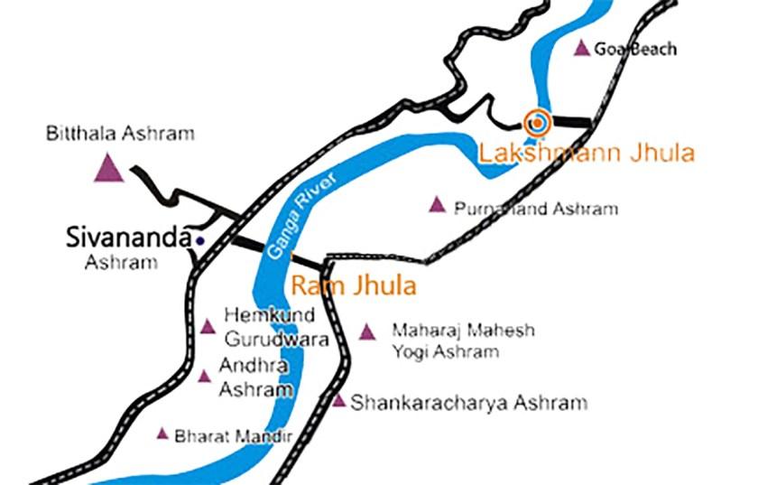 Rishikesh Map