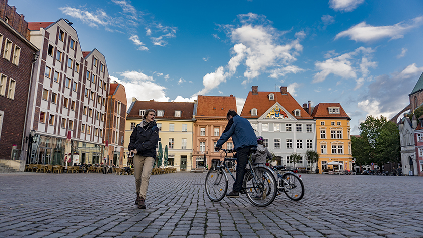 Stralsund city center
