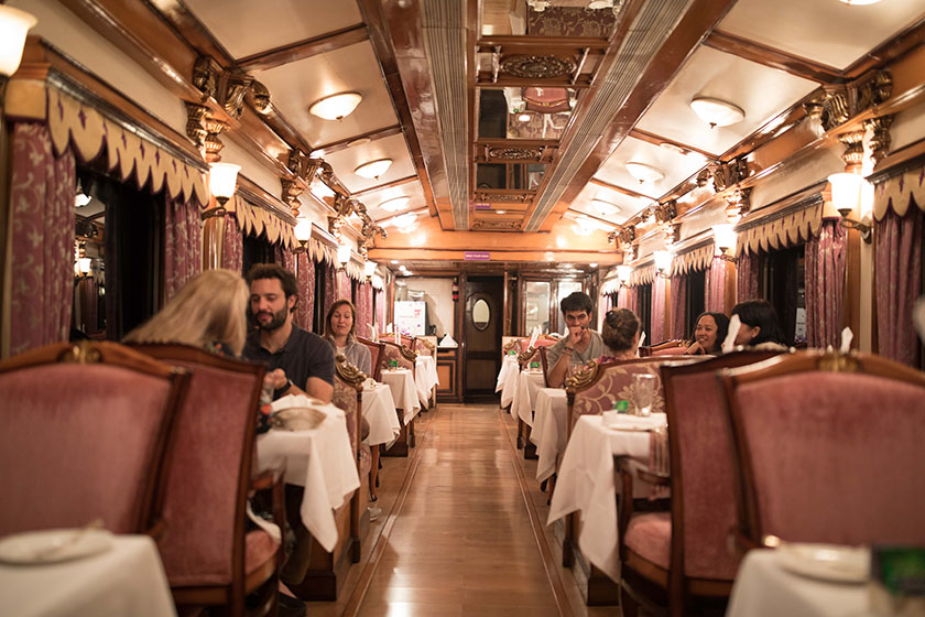 luxury train travel in india