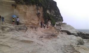 Kapururawan White Rock Formation, Burgos, Ilocos Norte