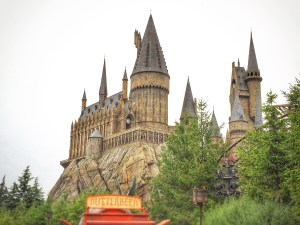 Hogwarts - worth the queue, I should say. Oh and there's that butterbeer for Y600 a glass