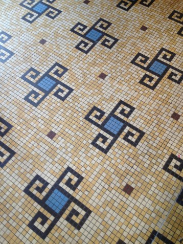 Oh the tiles