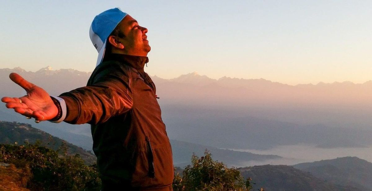 Early Morning Sunlight at Nagarkot