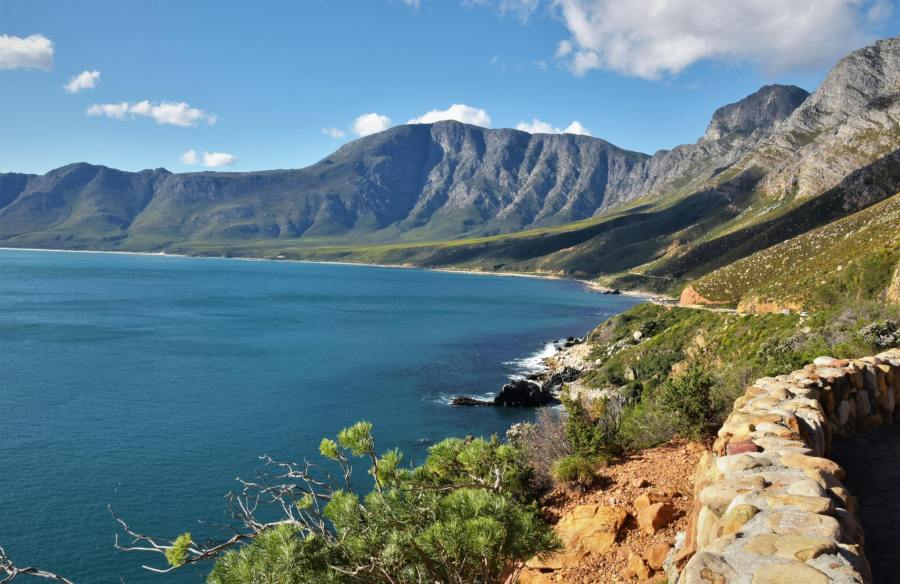 Between Bettys Bay and Gordons Bay : South Africa