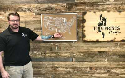 Flooring Franchise Welcomes Daniel Wilkinson