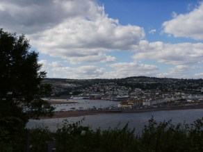 Overview of Teignmouth from Shaldon
