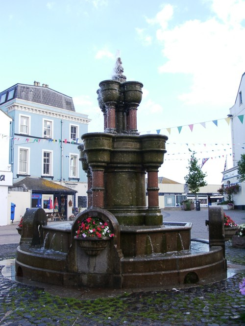 Teignmouth fountain