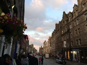 Edinburgh's Royal Mile street view