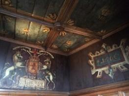 The Royal Palace original ceiling