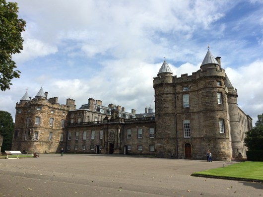 Palace of Holyroodhouse Forecourt