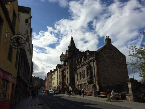 Royal Mile at Museum of Edinburgh