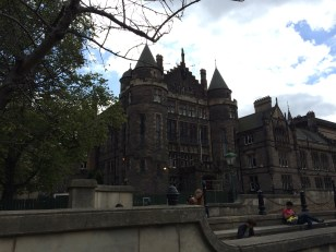 On University of Edinburgh campus