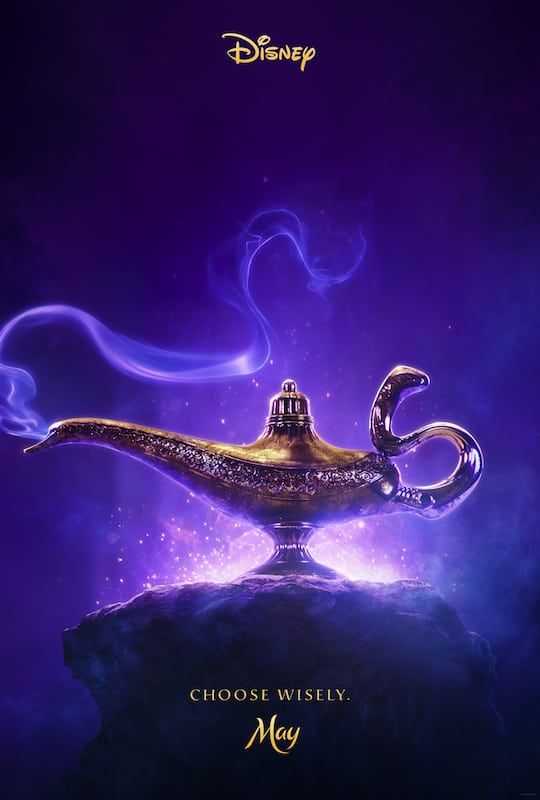 Aladdin the movie poster