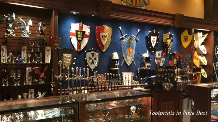 Medieval Times in Orlando - Shields and Swords