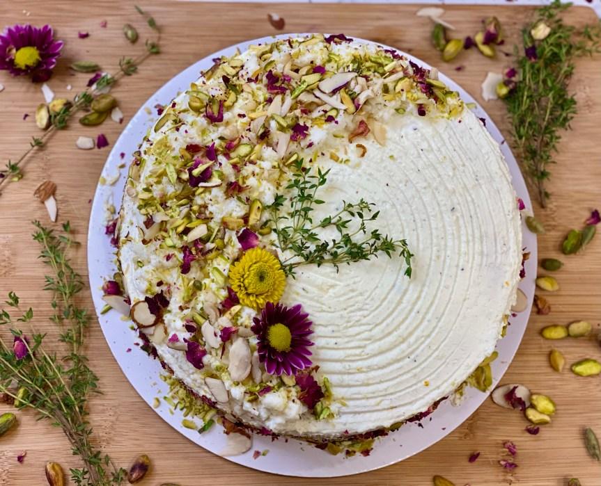 Rasmalai Saffron Cardamom Cake