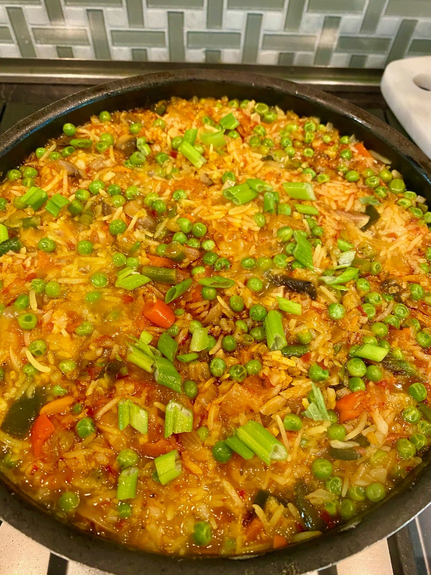 Spanish Spicy Paella
