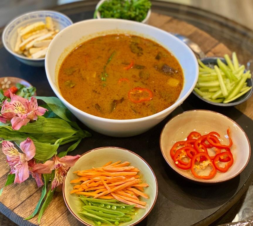 Asam Laksa – Malaysian Soup