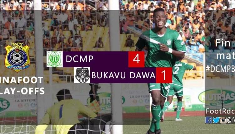 Le DCMP s'impose avec manière face à Bukavu Dawa et file en tête du classement !
