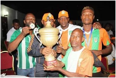 FC Renaissance, vainqueur de la Coupe du Congo 2016