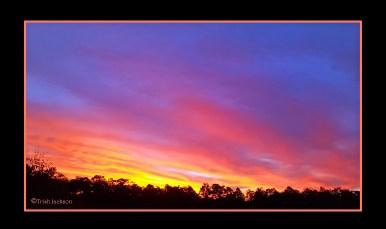 Sunset at Esk, Queensland