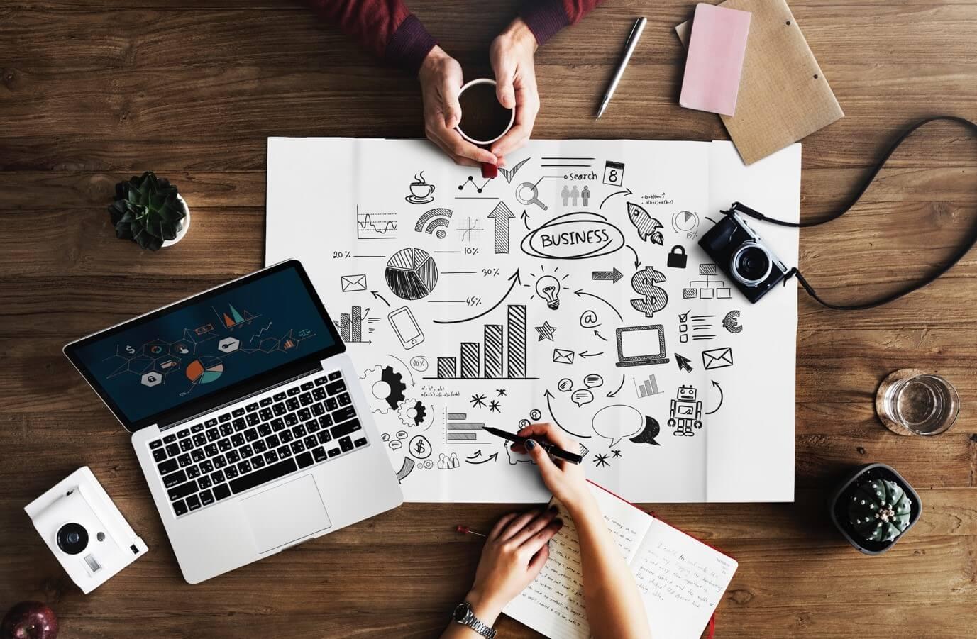 laptop business image
