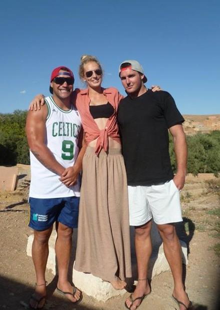 Me and my Kiwi boys :)