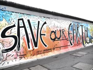 The East Side Gallery..