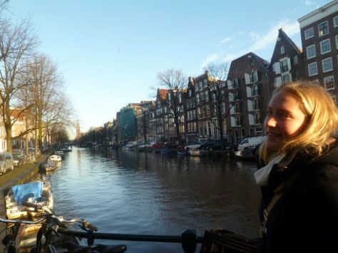 The stunning canals of Amsterdam