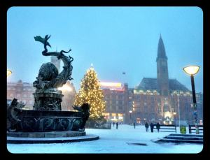 Copenhagen at Christmas time!