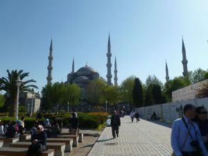 Hagia Sofia in Istanbul..